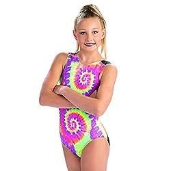 GK Girls Gymnastics Leotard V-Neck Show Tank