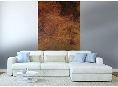 Vlies Fototapete VERKRATZTES KUPFER 150 x 250 cm | Vliestapete - Wandtapete für Wohnzimmer Schlafzimmer Büro Flur | PREMIUM QUALITÄT - MADE IN EU - Inklusive Tapetenkleber
