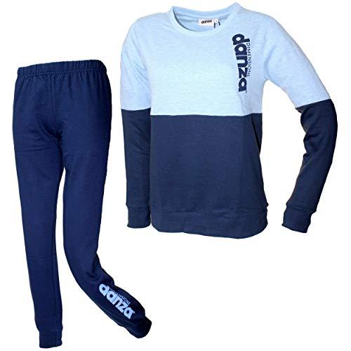 Dimensione Danza Schlafanzug für Damen, Mädchen, warm, Baumwolle, Fleece,...