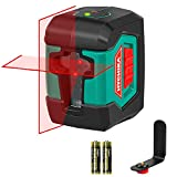 Laser Level, HYCHIKA 50 Feet Line Laser with Dual Modules, Switchable Self-Leveling Vertical and Horizontal Line...