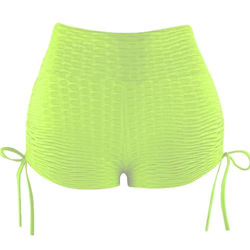 Leggins Mujer Push Up Camuflaje con Bolsillos Pantalones Cortos Gimnasio Tie-Dye Transpirables Cintura Alta Mallas Running Mujer