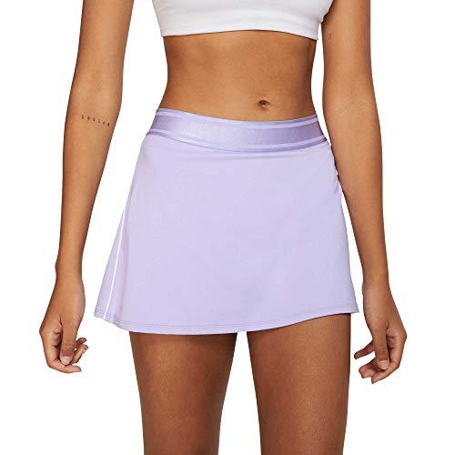 Nike - Tennisröcke für Damen in Purple Agate/White/White/Purpl, Größe XS