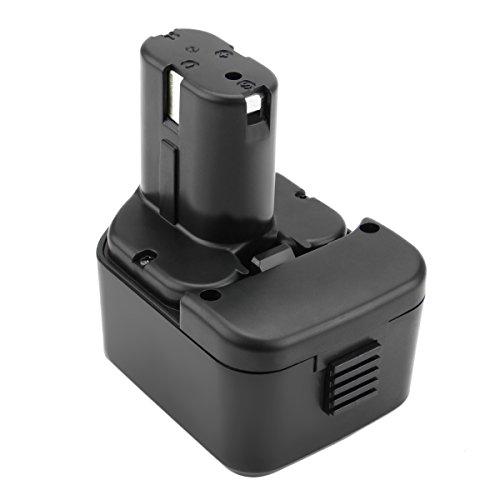 Exmate 12V 3.5Ah Ni-MH Battery Compatible with Hitachi EB1214S EB1212S EB1214L EB1220BL EB1220HL EB1230R EB1230X EB1233X EB1220HS EB1220RS EB1222HL EB1226HL EB1230HL