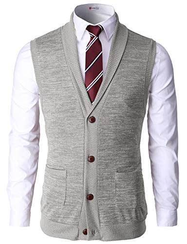 How to Wear Sweaters Vest Men's