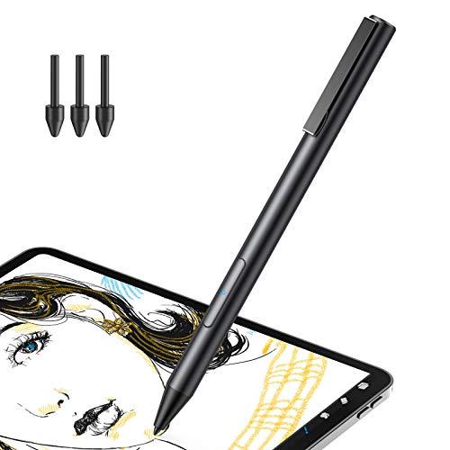 Hommie Aktiver Stylus Stift für Huawei Tablet, Creative Capacity Pen mit 1,0mm ultrafeiner Spitze NUR für iPad Huawei M5 lite 10 Zoll/M6 10.8 Zoll/Huawei MateBook E 2019/C5 10.1 Zoll