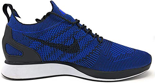 Nike Men's Air Zoom Mariah Flyknit Black/Racer Blue-Black-White Running Shoe 10 Men US