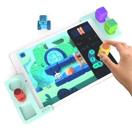 Tacto Coding by PlayShifu (app based) - Story-based Visual Coding Adventure   Coding Games for Kids   STEM Puzzles   Logic Games   Educational Gifts for Boys and Girls Age 4 - 10 (tablet not included)
