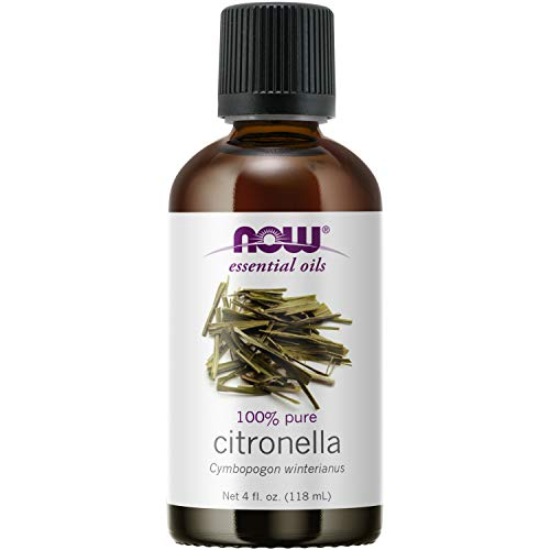 Now Solutions Citronella Essential Oil, 4-Ounce