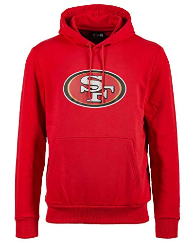 New Era - NFL San Francisco 49ers Team Logo Hoodie - Rot Farbe Rot, Größe L