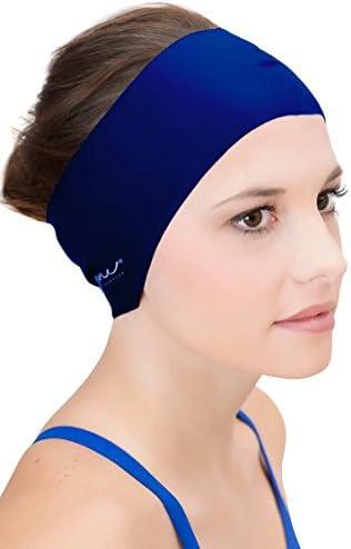 Sync Hair Guard & Ear Guard Headband - Wear Under Swimming Caps