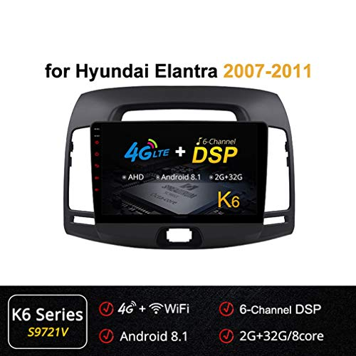 Check Out This XBRMMM 8 Core 9 Inch 2.5D IPS Nano Full Touch Screen GPS Navigation for Hyundai Elant...