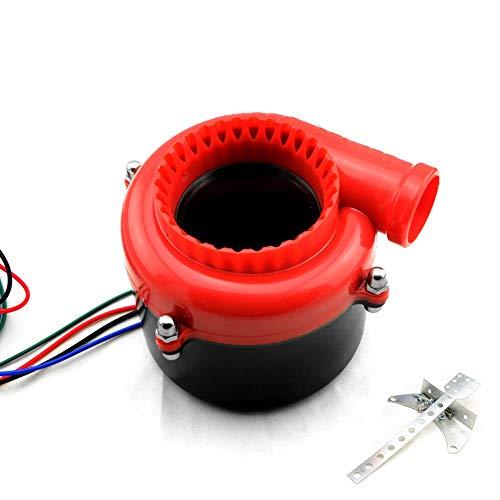 Iinger Universal electrónico Falso Coche de Turbo Válvula de Descarga Turbo Blow...
