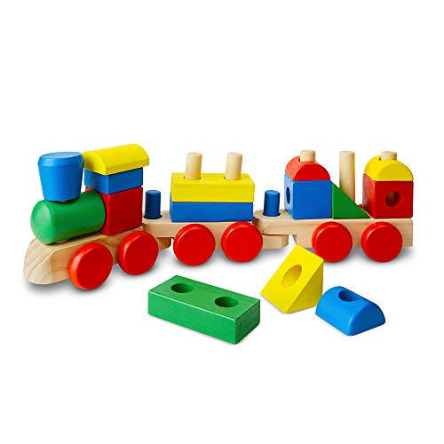 Image of Melissa & Doug Stacking Train