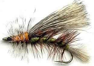 olive caddis fly