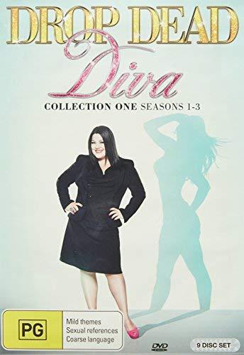 Drop Dead Diva - Seasons 1-3 - 9-DVD Set [ Origine Australien, Sans Langue Francaise ]