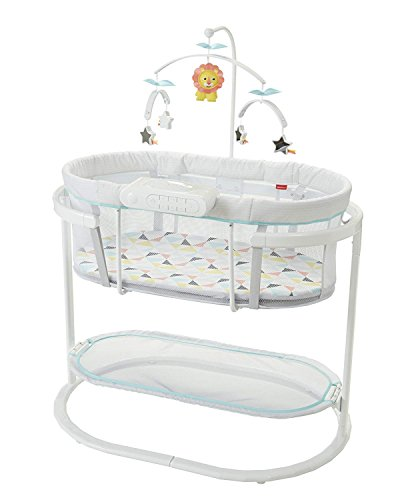 Cheapest Price! Fisher-Price Soothing Motions Bassinet, Windmill