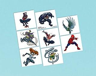 Spider-Man Webbed Wonder Tattoos