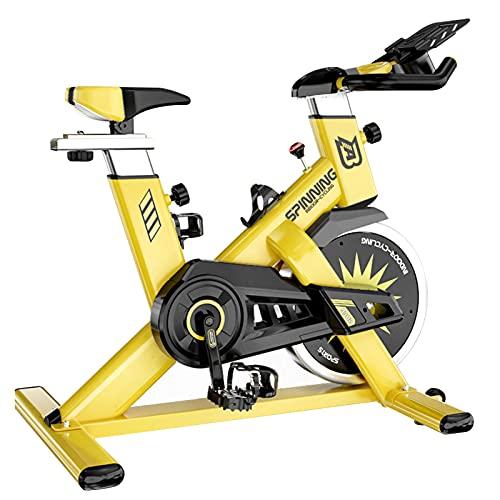 Spinning Bike Bicicleta De Ejercicio con IPAP Soporte, Multi-Position Handle Spinning Bike, Inicio Gimnasio Adulto Deportes Interior Bicicleta Estacionaria