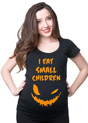 Silk Road Tees Gravidanza Top Halloween maternità T-Shirt Divertente Costume di Halloween delle Donne Small Grigio