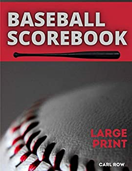 Baseball ScoreBook Large Print  Baseball Score Record | 100 Pages of Baseball Score Card | Perfect for Coaches and Fans