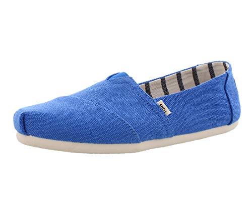TOMS Damen Women Alpargata Blue Crush Espadrilles, Blau