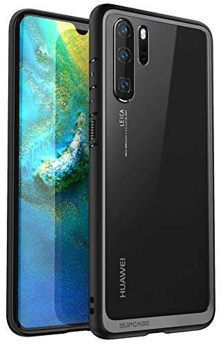 SUPCASE [Unicorn Beetle Style Series] Huawei P30 Pro Case Premium Hybrid Protective Clear Soft Case for Huawei P30 Pro 2019 Release (Black)