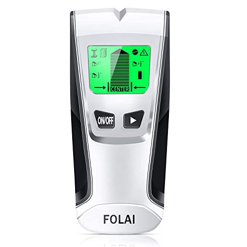 Stud Finder Sensor Wall Scanner 4 in 1 Electronic Stud Posi Tioner with Digital LCD Display Central Positioning Stud Sensor and Sound Alarm are Display for Wood AC Wire Metal Studs Detection