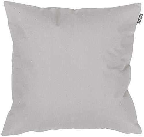 Bean Bag Bazaar Gartenkissen, Grau, 43cm, Kissen Wasserabweisend, Textilfaserfüllung–, Dekoratives Zierkissen für Gartenbänke, Stühle oder Sofas