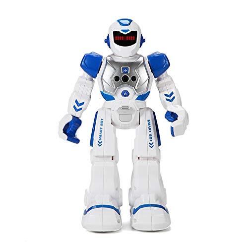 RC Robot Toy - Robot teledirigido, juguete con control remoto, reconocimiento de gestos, juguete robot programable, regalo para cumpleaños infantil