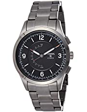 Fossil Mens Quartz Watch, Analog Display and Stainless Steel Strap FTW1207