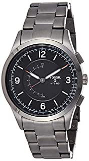Fossil Homme Analogique Quartz Montre connectée avec Bracelet en Acier Inoxydable FTW1207 (B074J8ZWQN) | Amazon price tracker / tracking, Amazon price history charts, Amazon price watches, Amazon price drop alerts