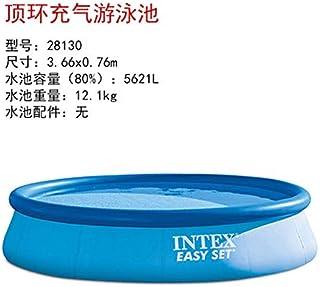 LinZX Las familias numerosas Piscina Inflable para Adultos-3.66m