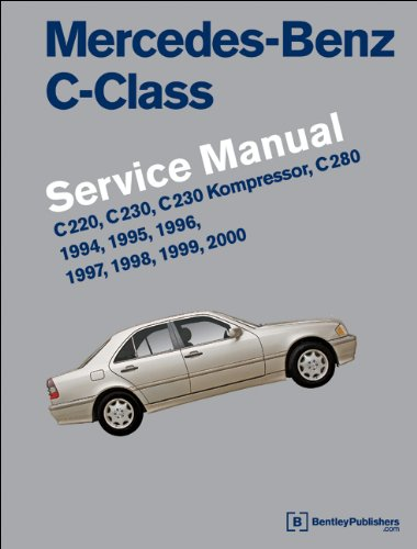Mercedes-Benz C-Class (W202) Service Manual: 1994, 1995, 1996, 1997, 1998, 1999, 2000: C220, C230, C230 Kompressor, C280