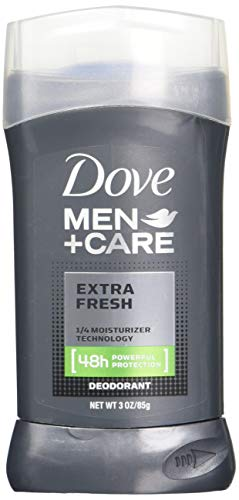 Dove Men+Care Deodorant Stick, Extra Fresh, 3 Ounce (Pack of 3)