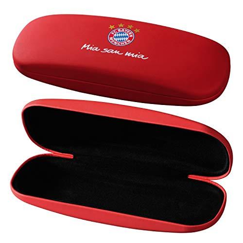 Bayern München Brillenetui Logo rot Etui FCB - Plus Lesezeichen I Love München