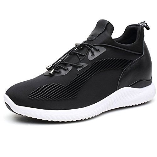 CHAMARIPA Elevator Schuhe Sneakers Sport Casual Leichte Schuhe mit versteckten Lift Heel für Mann-7 cm Taller-H71C62V012D