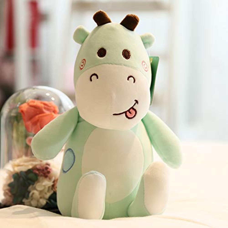 DONGER Niedlichen Hirsch Spielerisch Hirsch Spielzeug Cartoon Hirsch Giraffe Puppe Kind Puppe Geburtstagsgeschenk, Grün, Mittel 40 cm B07P3JFVHR Billig ideal | Produktqualität