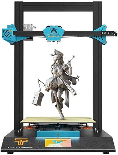 CYufei Two Trees Bluer Plus 3D Printer Kit 95% Pre-Assembled 300 x 300 x 400mm Quiet Printing with 4.3 Inch Touch Screen High Precision