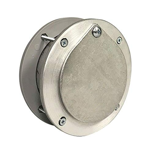 Lowest Price! New Opener Parts 4 Inch Aluminum Exhaust Port for Doors Up to 2 Inch Thick
