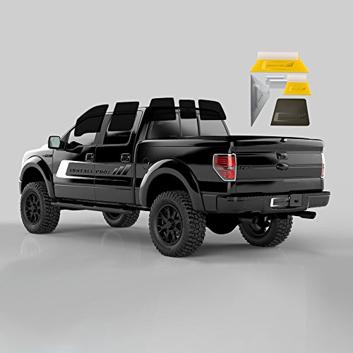 Tint Kits (Computer Cut) for All Four Door Trucks (Full Tint with Tool Kit)