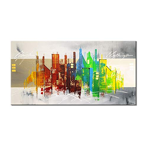 ZWB-Peintures décoratives: la Toile Abstraite Pure décoratifs, Peinture décorative Frame, coloré, hôtel décoration de Peinture décorative Abstract lit