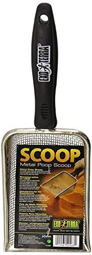 Exo Terra Scoop, Metallschaufel für Reptilienkot