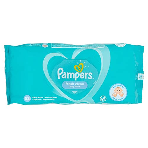 Pampers Fresh Clean Baby Wipes (52 Wipes)