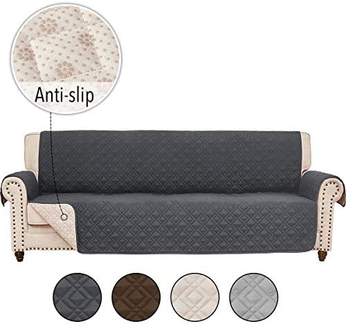 Best RHF Anti-slip Cover for Extra-Wide Couch, Sofa Cover, Oversize Sofa Slipcover,Extra-Wide Couch Cover