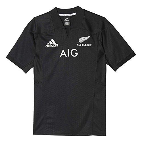 adidas AB H JSY Maglietta Prima Divisa all Blacks - Nazionale Rugby Nuova Zelanda per Uomo, Nero, S