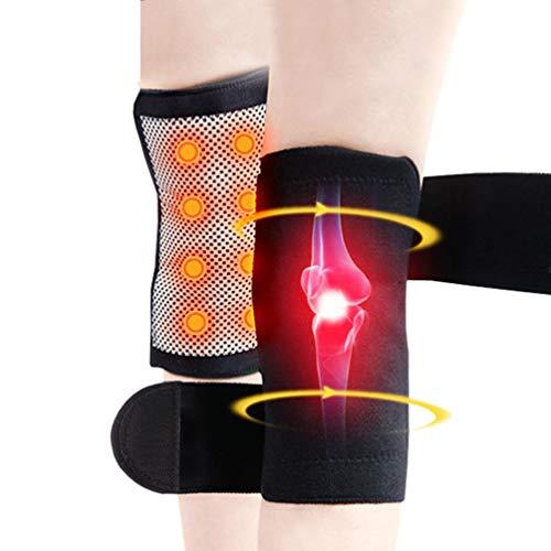 JJDD'G Rodilleras Calentamiento automático Soporte de Rodilla Ajustable Terapia magnética Arthritis Brace Cinturón de protección
