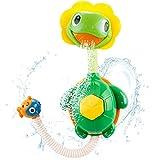 Xinfang Baby Bath Toys, Tortue à pompe à eau avec douchette, Super Interactive, Amusement de la baignoire, Cascade,...