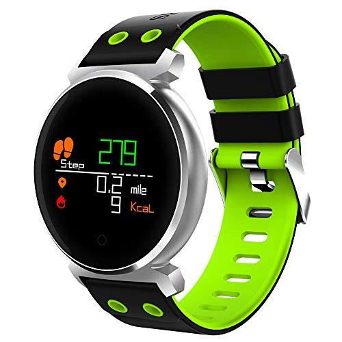 Javpoo Alta qualità !! Father's Day Schermo a colori K2 Heart Rate Blood Pressure Sport IP68 Smart Watch per IOS Android