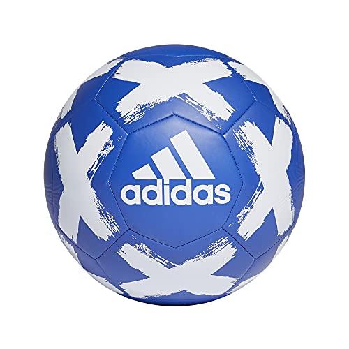 adidas Starlancer V Club Soccer Ball Team Royal Blue/White 5