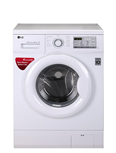 LG 6 kg Inverter Fully-Automatic Front Loading Washing Machine (-FH0FANDNL02.ABWPEPL , White,...